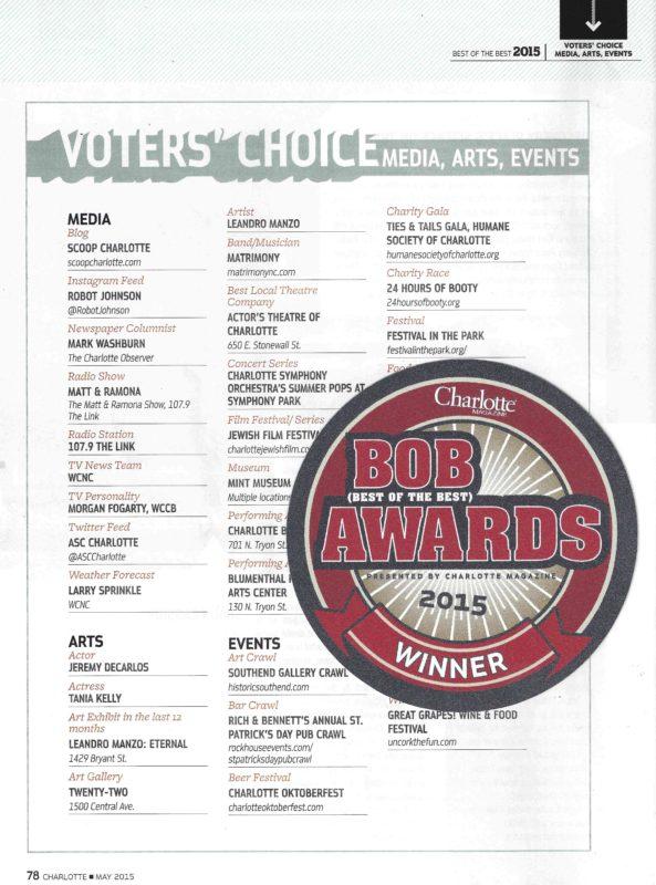 BOB AWARDS 2015 2