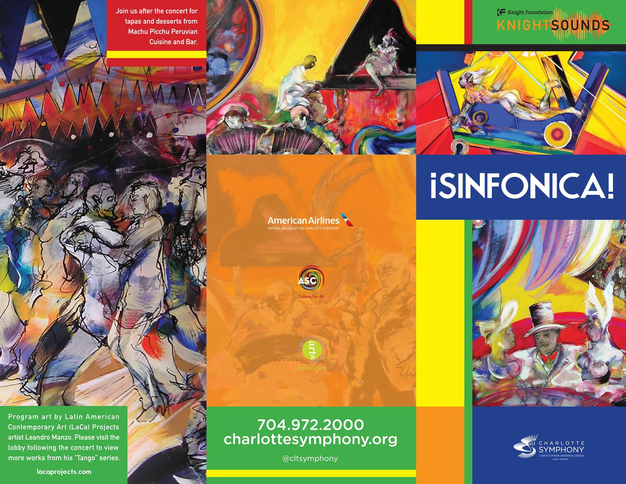 2016 - Sinfonica program